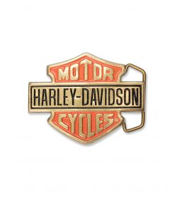 Harley-Davidson Gold H302 Solid brass Belt Buckle