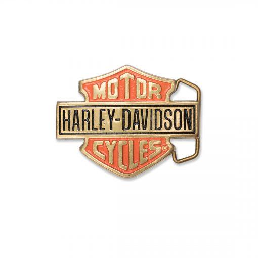 Harley-Davidson Gold H302 Solid brass Belt Buckle