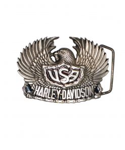 Eagle USA Harley-Davidson H504 Solid Brass Belt Buckle