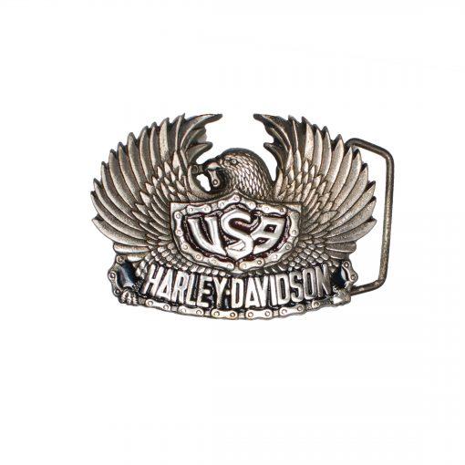 Eagle USA Harley-Davidson H504 Solid Brass Belt Buckle