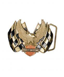 Harley Davidson Buckle H508 1983 BARON Solid Brass skyrush