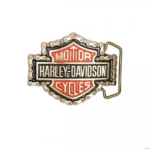 Harley Davidson H531 Solid Brass belt buckle