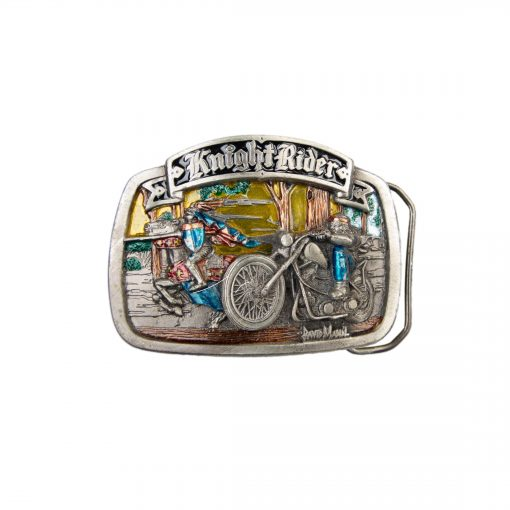 Knight Riders Belt Buckle 2072