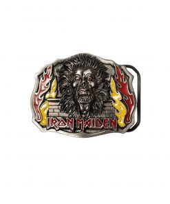 Iron Maiden Flame Buckle