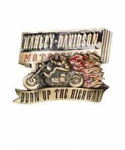 Harley Davidson Belt Buckle Baron H429