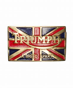 Triumph Belt Buckle with Union Jack