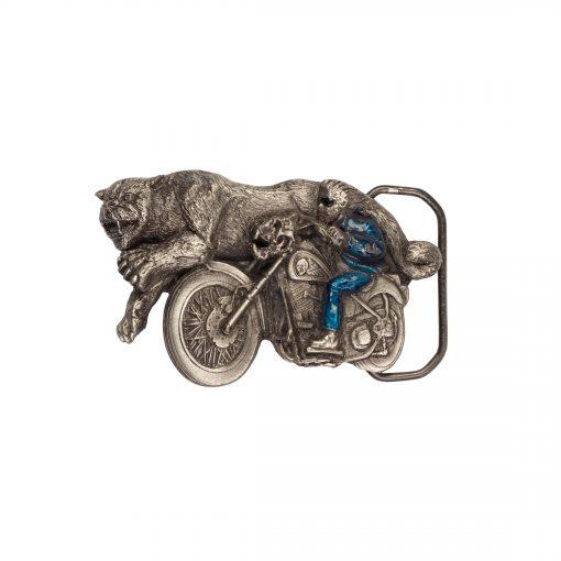 Biker and Animal Buckle